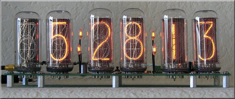 KD7LMO - Nixie Tube Clock